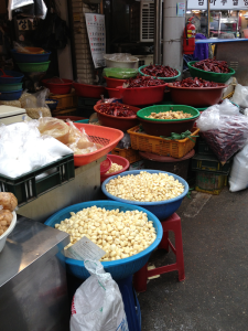photo of tubs of chili and garlic